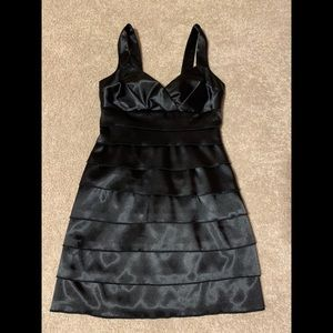 Silk black dress